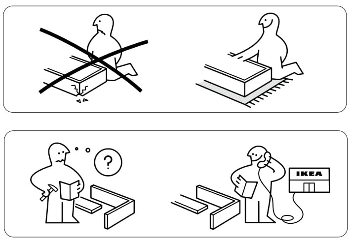 Image of Ikea Instruction Manual