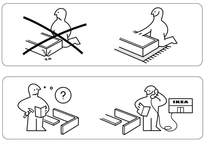 Image of Ikea Instruction Manual